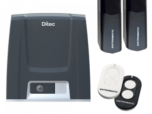 Kit automatizare poarta culisanta 600KG DITEC